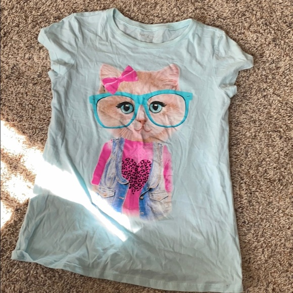 Girls shirt sleeve top